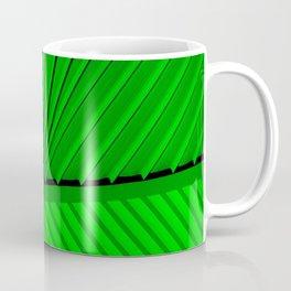 Lime Lines Study Coffee Mug