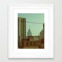 philadelphia Framed Art Prints featuring Philadelphia by Jeremy Jon Myers