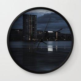 Silence of the morning Wall Clock
