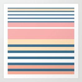 Bronte Stripe Art Print