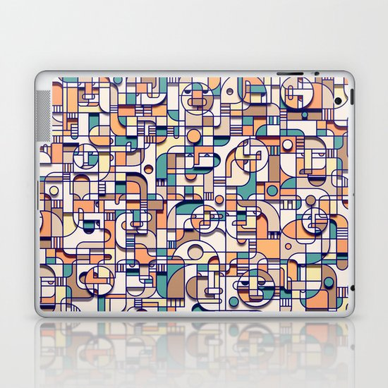 HUMAN BEINGS Laptop & iPad Skin