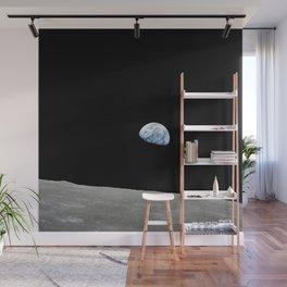 Apollo 8 - Iconic Earthrise Photograph Wall Mural