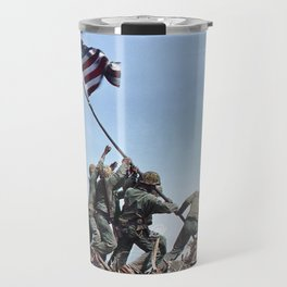 Iwo Jima Color Travel Mug