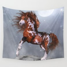 Native Horse Wall Tapestry