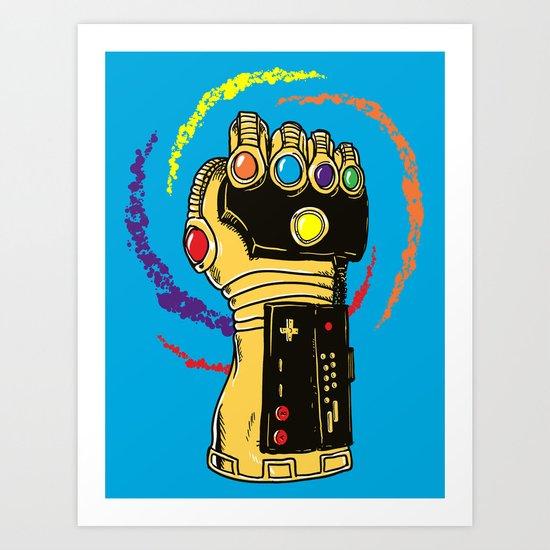 Infinity Power Art Print