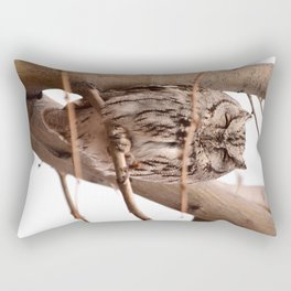 Wild Owl - Ivins, Utah Rectangular Pillow