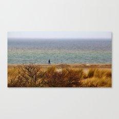 A thoughtful walk Canvas Print