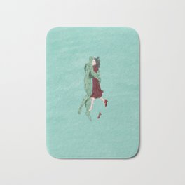 The Shape of Water - Watercolor Bath Mat