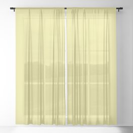 BUTTERFLY SAND 420 COLOR PALLET Sheer Curtain