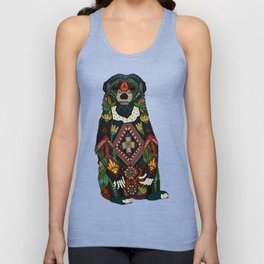 sun bear almond Unisex Tank Top