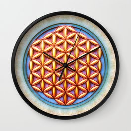 Flower Of Live - Spring In My Heart Wall Clock