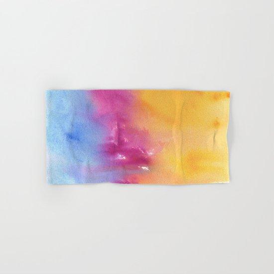 Abstract Watercolor No. 1 Hand & Bath Towel