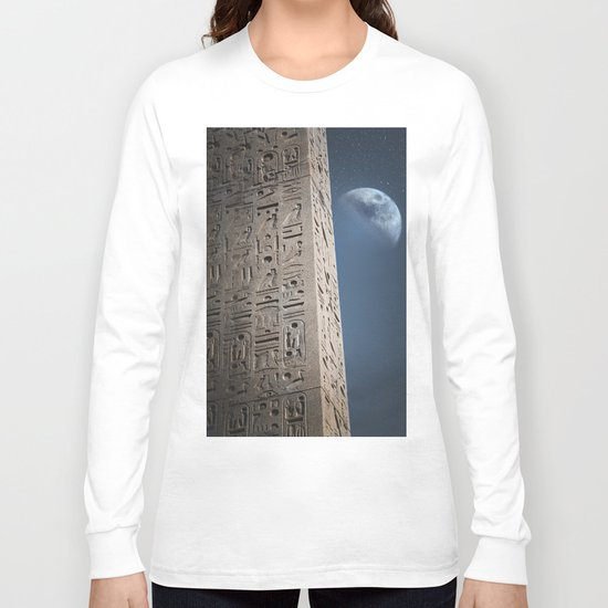Egyptian Moon Long Sleeve T-shirt