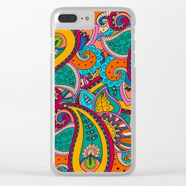 African Style No22 Clear iPhone Case