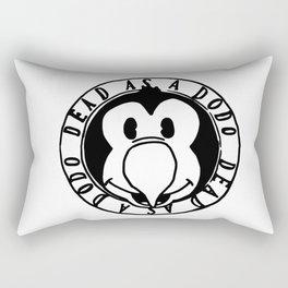Dead As A Dodo Logo Rectangular Pillow