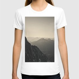 Mountain Side Color Photography Germany Europe Nature T-shirt