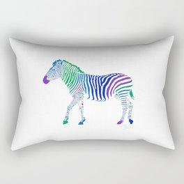 Zebra 6B Invert Rectangular Pillow