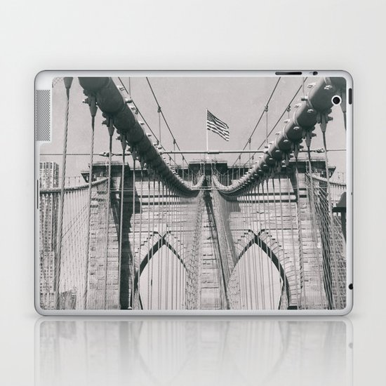Brooklyn bridge, architecture, vintage photography, new york city, NYC, Manhattan view by stefanoreves