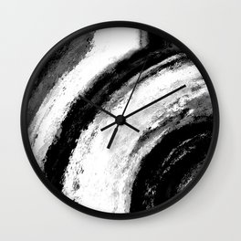 B&W Wall Clock