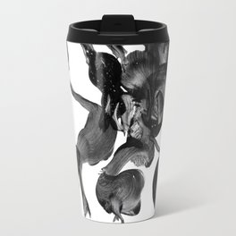 Tied in Knots 1 Abstract Painting Travel Mug