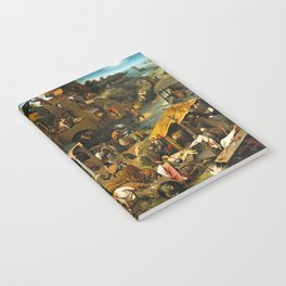 Pieter Bruegel the Elder Netherlandish Proverbs Painting Notebook