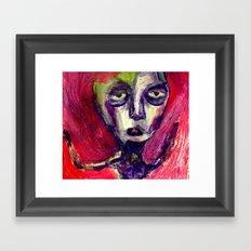 Her Moss. Framed Art Print