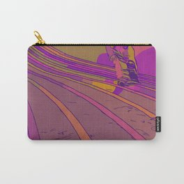 Pink Streak Carry-All Pouch