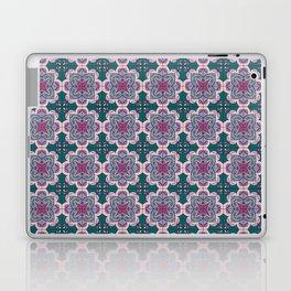 Floral ornamet tile Laptop & iPad Skin