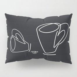 Cuppa Candor [Noir] Pillow Sham