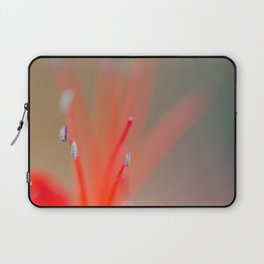 Abstract flower stamens close up. Laptop Sleeve