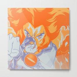 Lion O! Metal Print