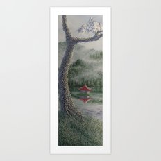 morgan's tree Art Print