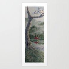 morgan's tree Art Print