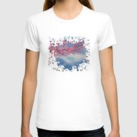 cherry blossom T-shirts featuring Cherry Blossom by Adamzworld