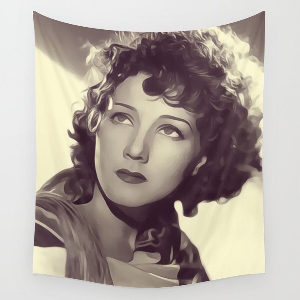 Jean Parker Wall Tapestry by Esotericaartagency TPS8348413