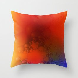 Aura Spectra I Throw Pillow