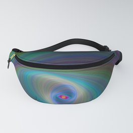 Elliptical Eye Fanny Pack