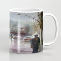 istanbul Mugs featuring ISTANBUL by Baris erdem
