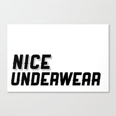 NICE Canvas Print