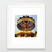 ornate Framed Art Prints featuring Ornate by Evan La Ruffa