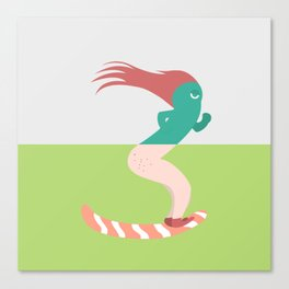 Pantless Project / FARTER Canvas Print