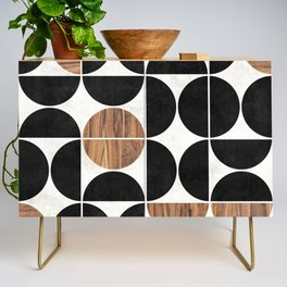 Mid-Century Modern Pattern No.1 - Concrete and Wood Credenza