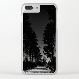 HEADING TO THE TOP Clear iPhone Case