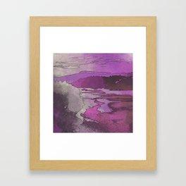 Ultraviolet Dreams Framed Art Print