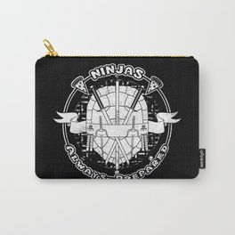 Ninjas Always Prepared Carry-All Pouch