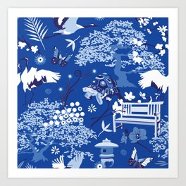 My chinese garden – my sanctuary Art Print
