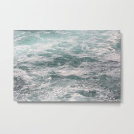 Blown Spume and Windrift Metal Print