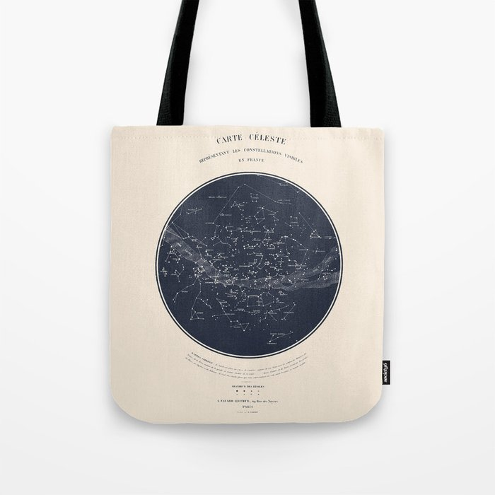 Carte Celeste Tote Bag