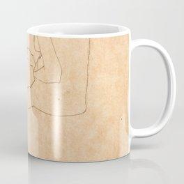Egon Schiele Lovers Coffee Mug