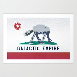 California Strikes Back Art Print